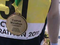 cyprus marathon, hal f and 10K