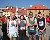 running crazy - prague half marathon